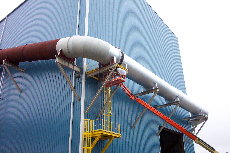 Charter-Steel-Duct-Work-in-Progress