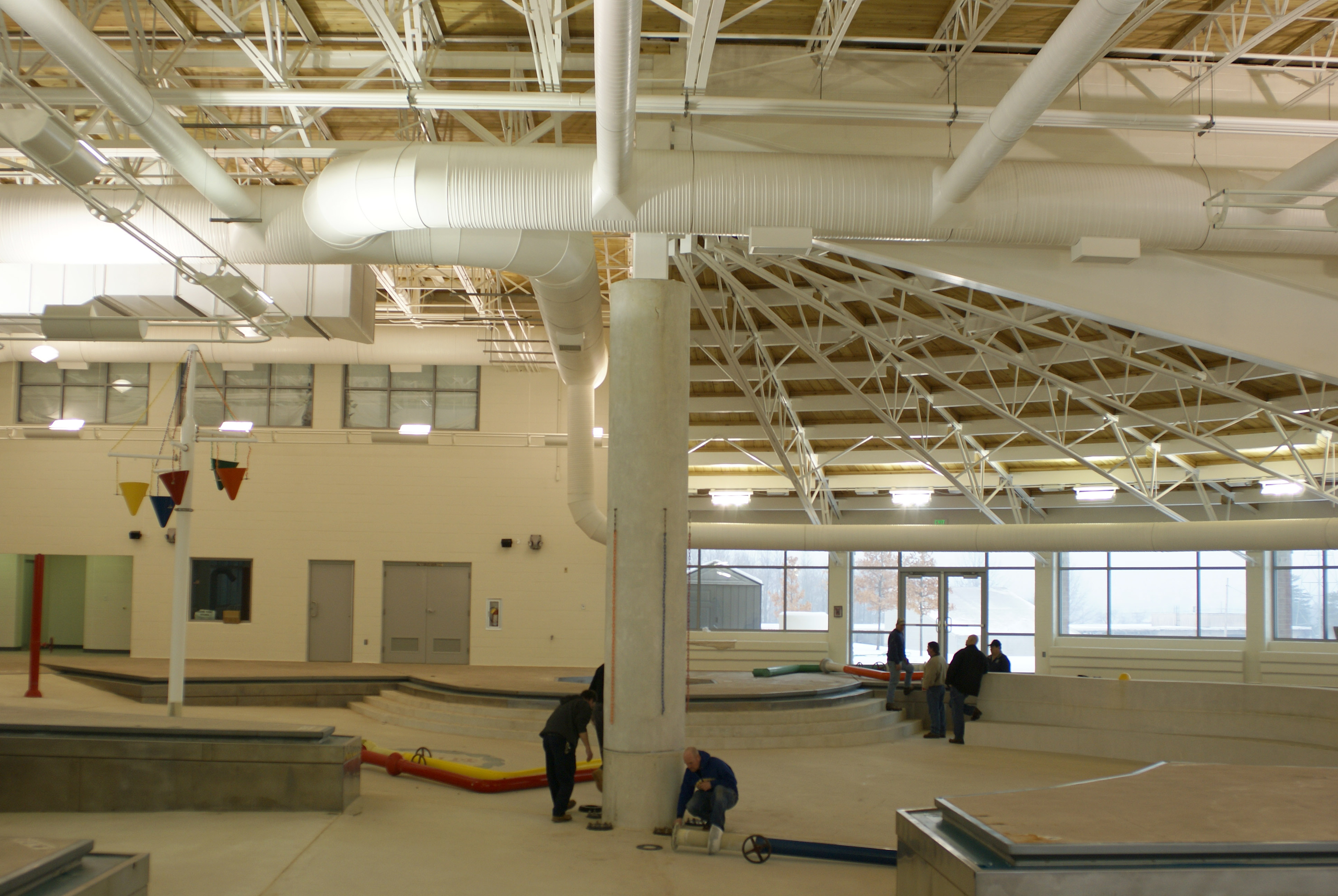 Dependable Painting Company 187 Seven Hills Rec Center Pool